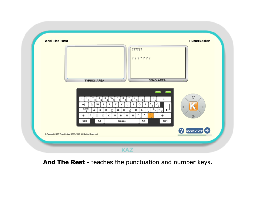 Kaz :: Learn typing skills for Business