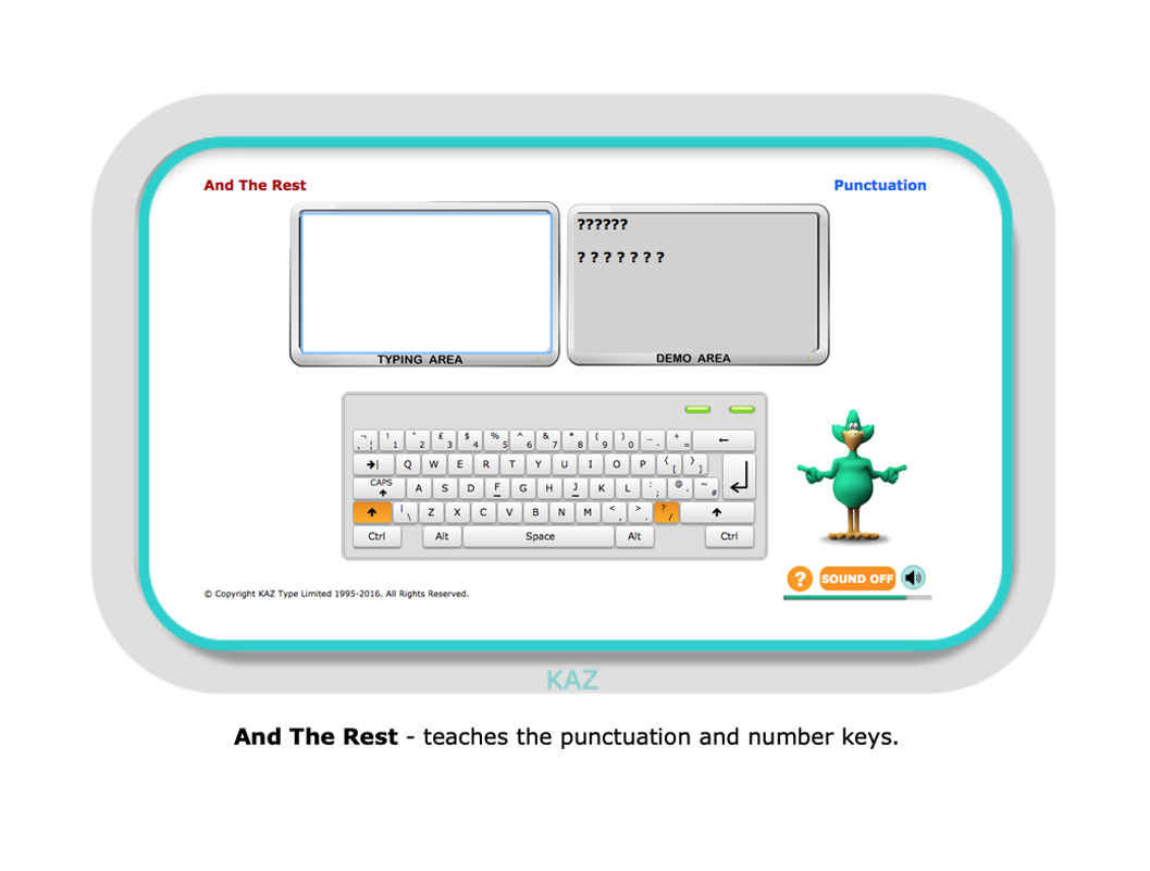 Typing Tutor 6 Me Words